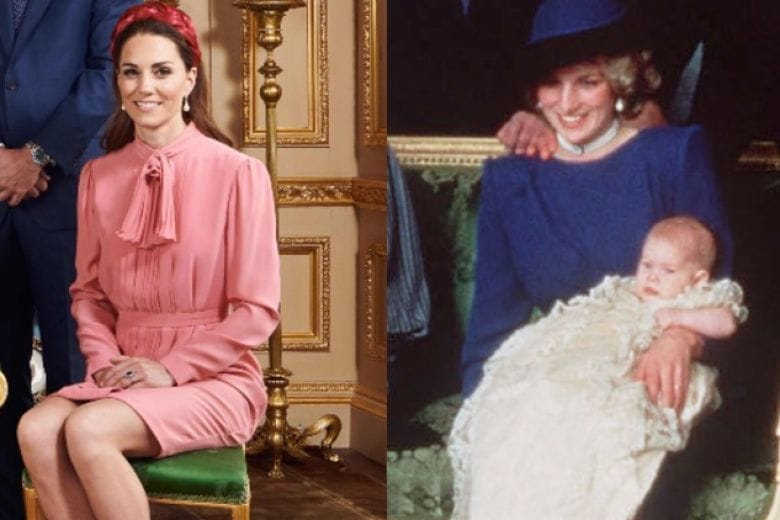 Kate Middleton ha fatto un tributo dolcissimo a Lady Di al battesimo di Archie