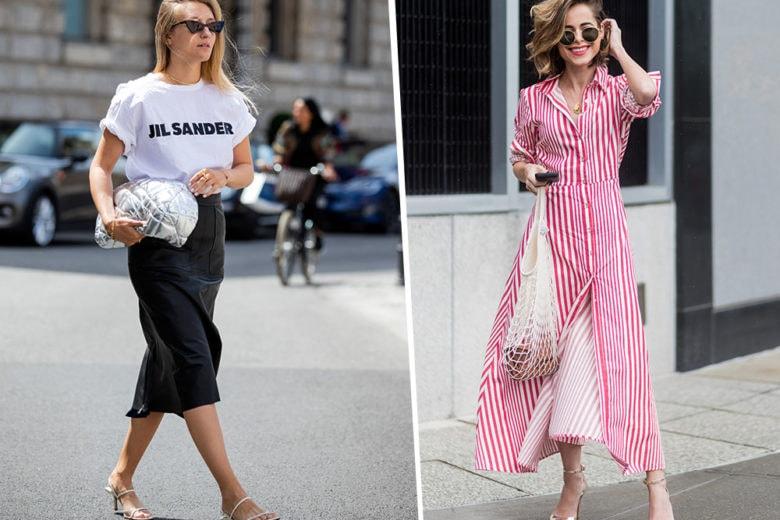 10 look dallo street style per affrontare (con stile) l'estate in città