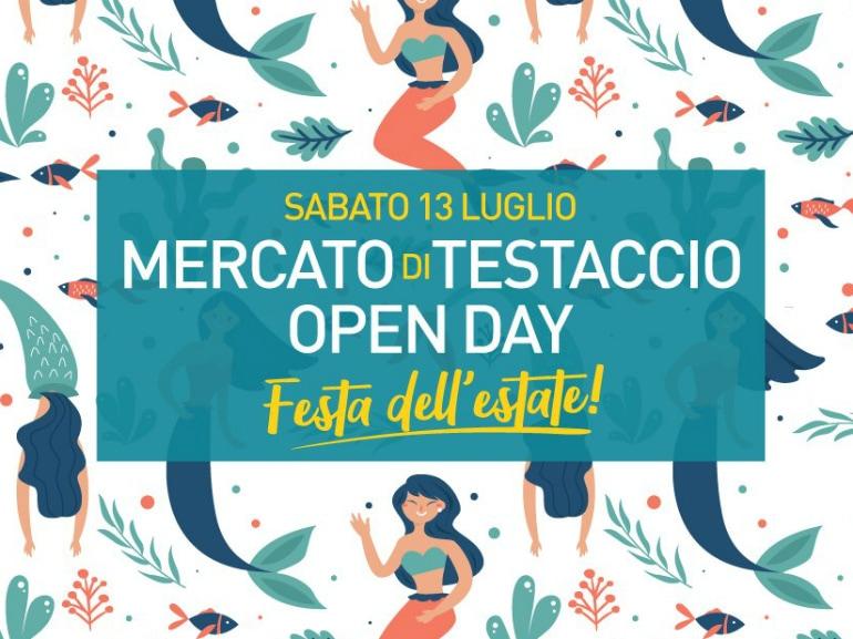 mercato testacccio open day