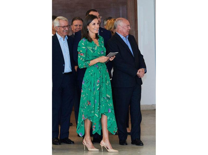 regina Letizia di Spagna in Maje