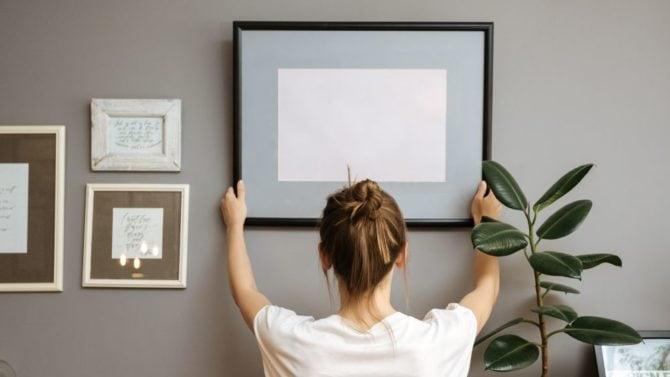 7 idee originali per decorare le pareti di casa for Pareti originali per interni