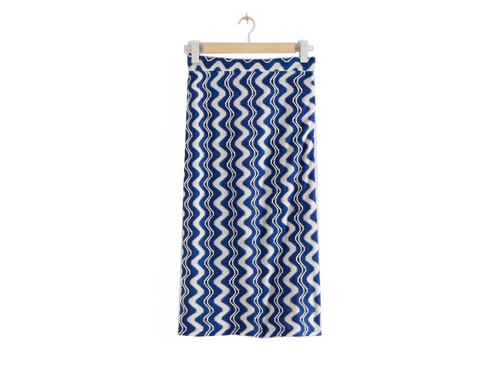 stories-jacquard-wave-midi-skirt