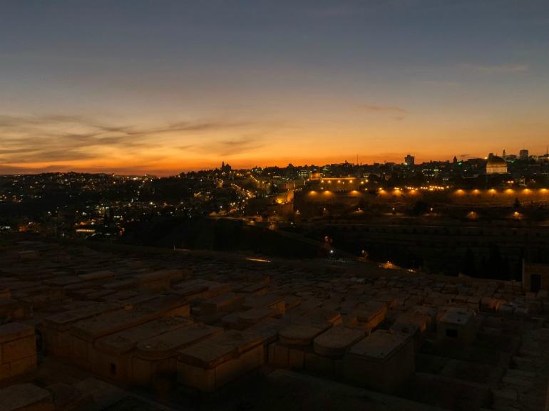 tramonto gerusalemme