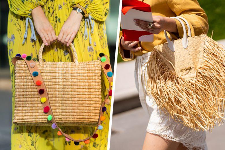 Borse di paglia: 5 idee look (ad alto tasso di glamour) per indossarle anche in città
