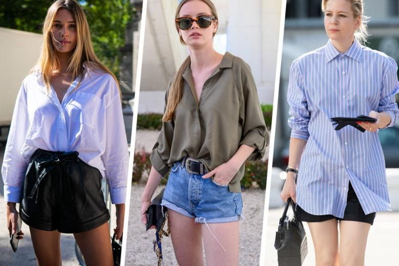 Shorts e camicia: la combo perfetta per l'estate!