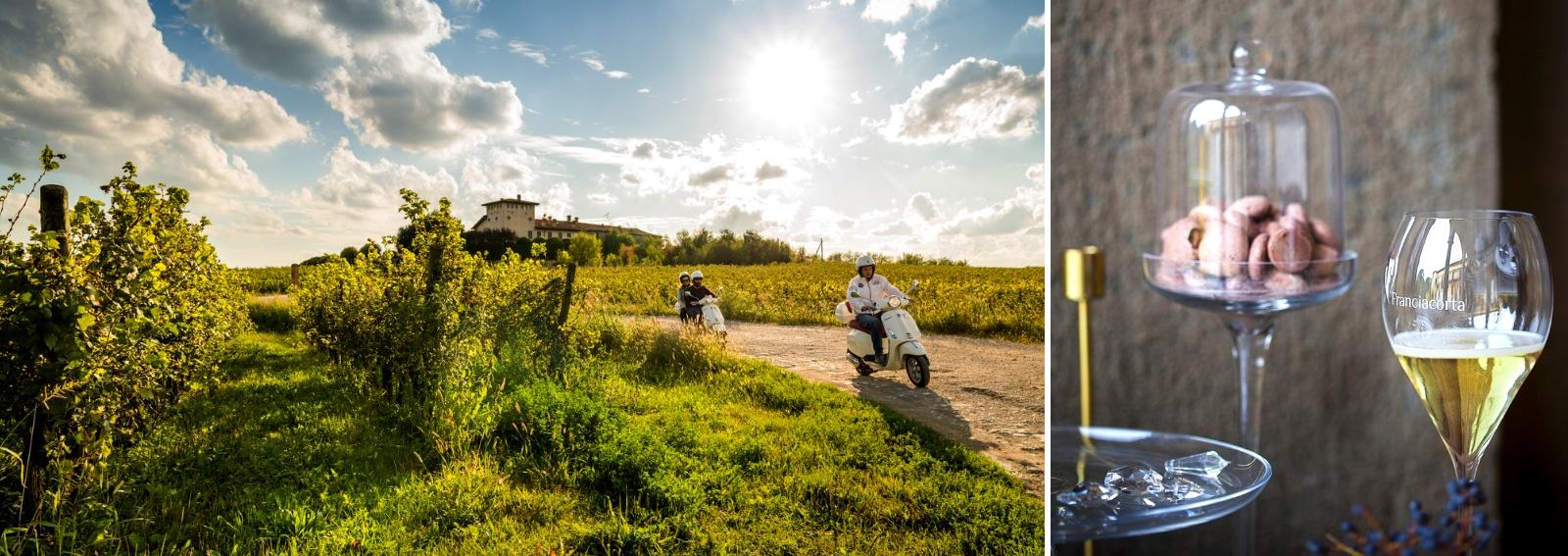 Franciacorta itinerari gusto vino natura storia arte Fetival Franciacorta in Cantina DESK