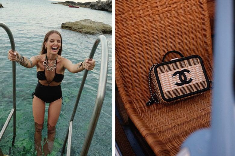 """Chanel e Carlotta Oddi: """"ode"""" a Capri"""