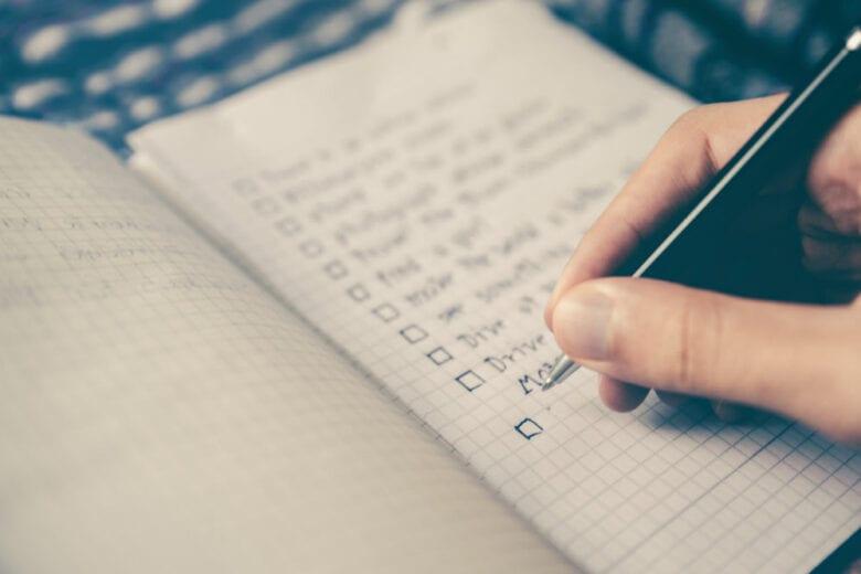 Come fare una lista di buoni propositi che riusciremo a realizzare