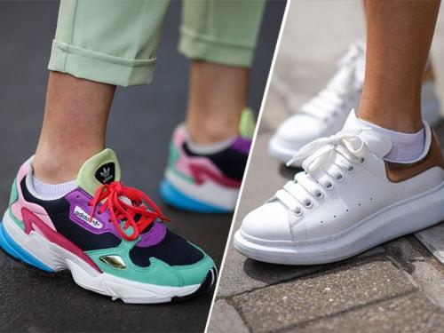 Sneakers: i modelli di moda dell'autunno inverno 2019