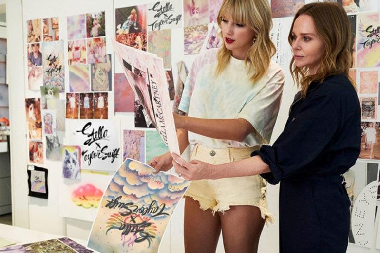 """#StellaxTaylorSwift: la capsule per celebrare il nuovo album """"Lover"""""""