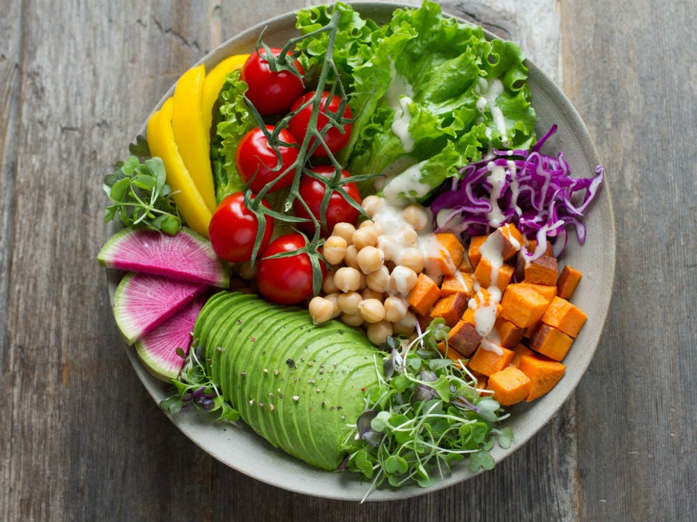 verdure ortaggi piatto frutta