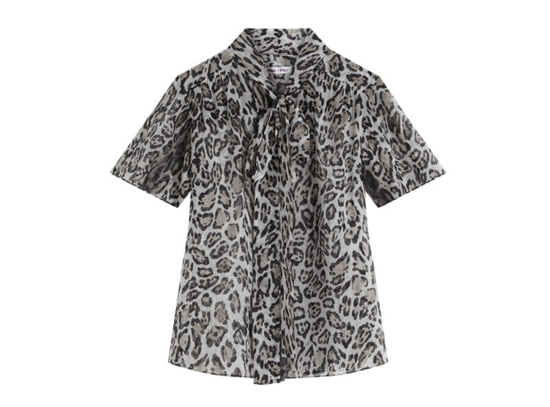2 Blusa leopardata