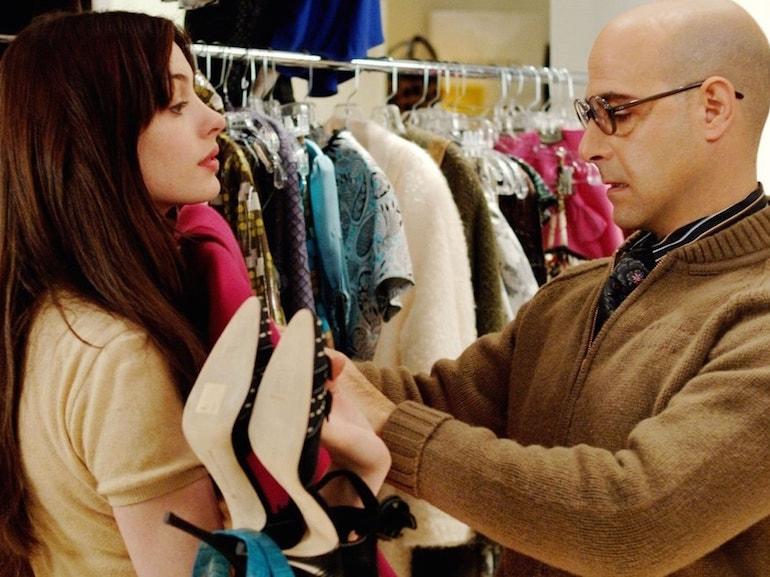 Anne Hathaway scarpe