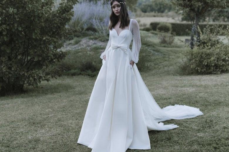 10 abiti da sposa vintage-boho come quello di Carolina Crescentini