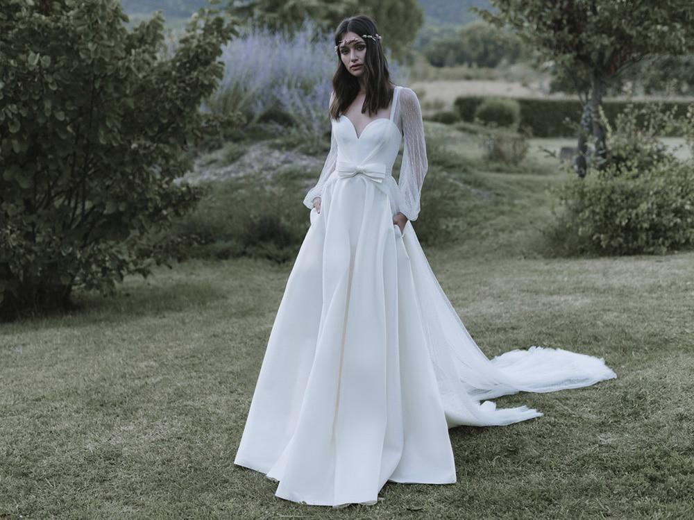 Abiti Da Sposa Stile 900.Abiti Da Sposa Vintage 10 Modelli Boho In Stile Carolina Crescentini