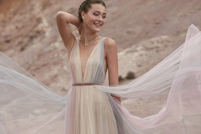 Abiti da sposa: le proposte a tutto colore per il 2020