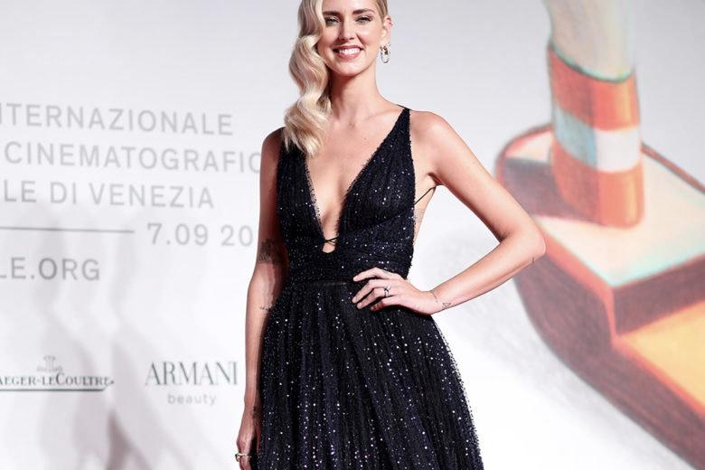 """Chiara Ferragni in Dior alla prima di """"Unposted"""": le immagini esclusive dell'abito"""