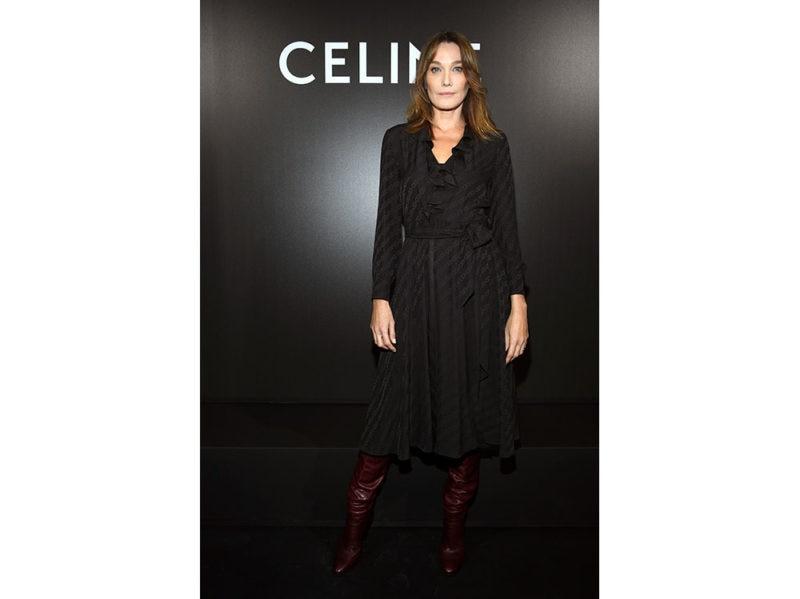 Carla-Bruni-attends-the-Celine-
