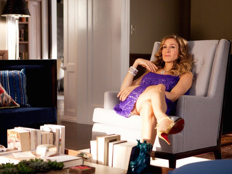 Carrie Bradshaw relax
