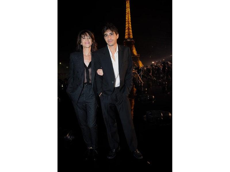 Charlotte-Gainsbourg-and-her-son-Ben-Attal-da-Saint-Laurent