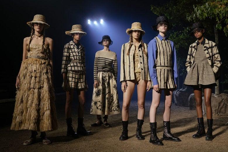 Dior: la sfilata primavera-estate 2020 è un elogio alla natura