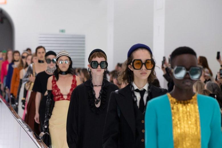 Sfilata Gucci PE 2020: la moda come spazio di auto-affermazione