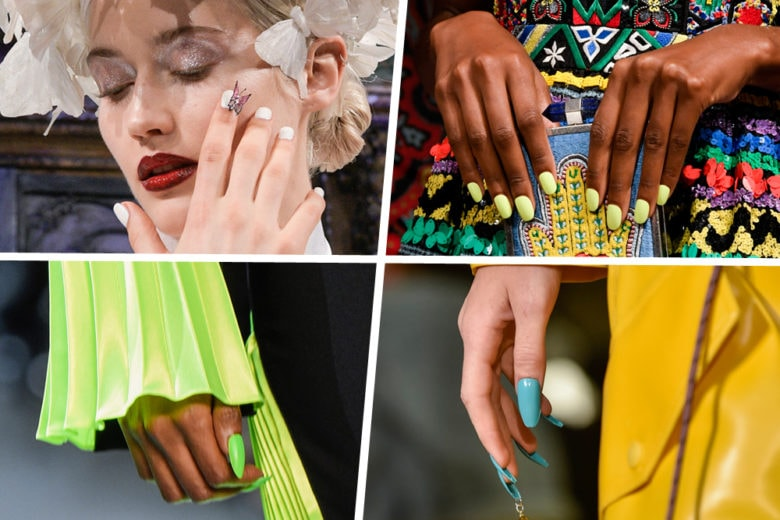 A tutto colore: ecco la nail art più belle viste alle sfilate A/I 2019-20