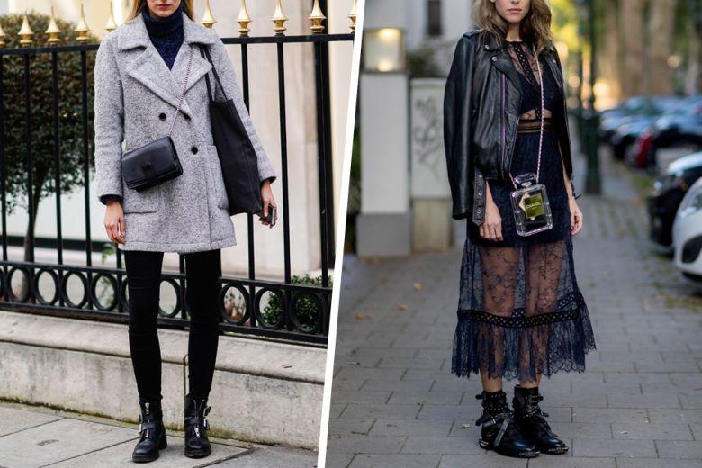 Anfibi e biker boots: ecco i modelli di tendenza (da indossare praticamente su tutto)