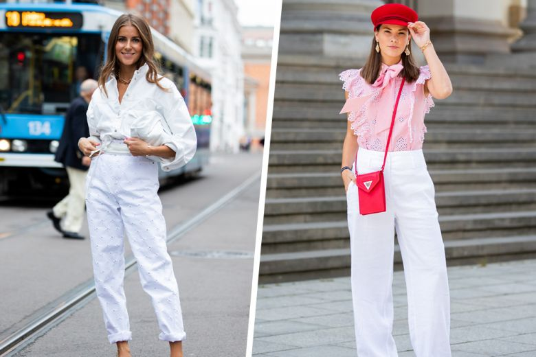 Pantaloni bianchi: 16 modelli top da acquistare ora (e indossare anche in inverno)