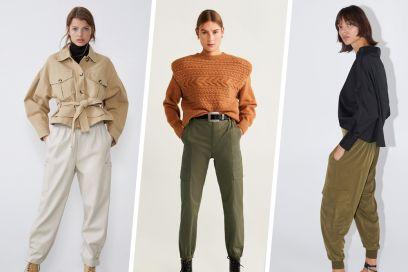 Pantaloni con tasche laterali: la tendenza continua...