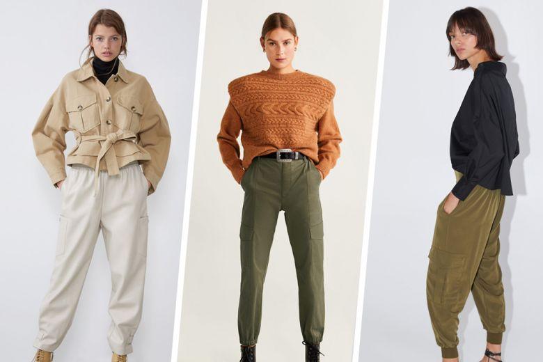 Pantaloni con tasche laterali: la tendenza continua…