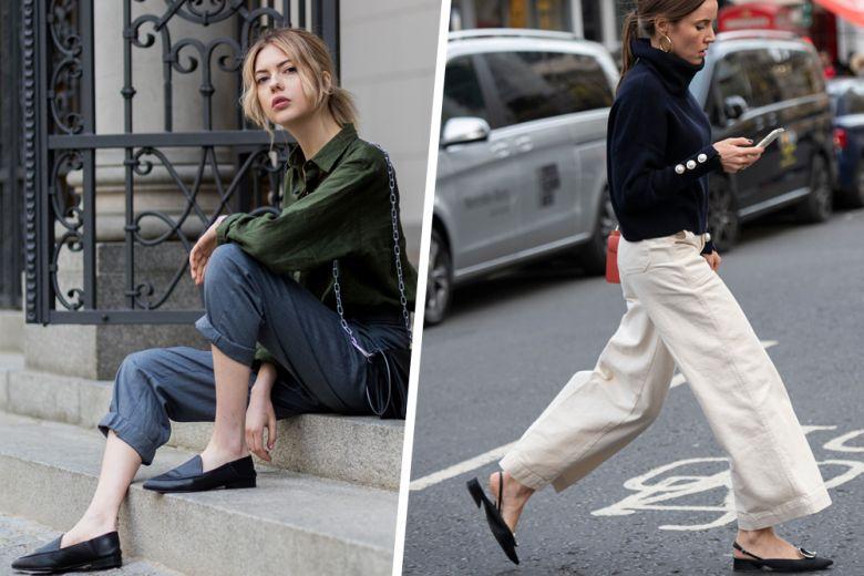 Flat fa rima con…glam: ecco le scarpe basse protagoniste dell'autunno