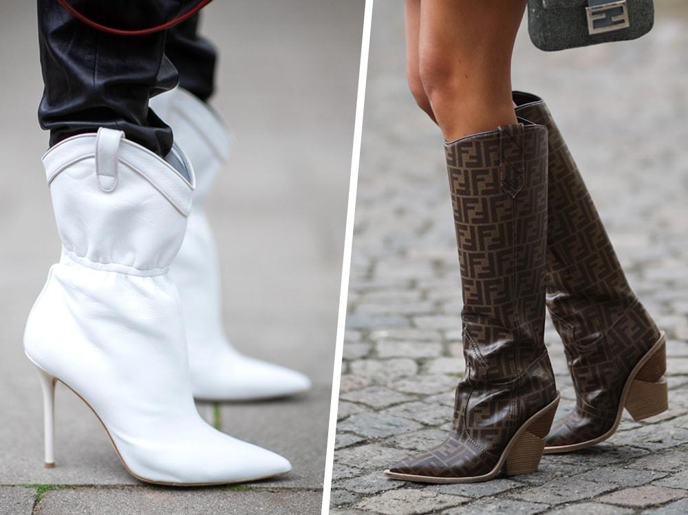Gli Stivali Texani di Fendi sono i più Cool dell'Inverno