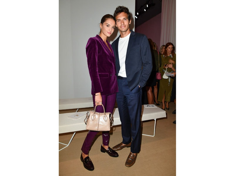 Gabrielle-Caunesil-and-Riccardo-Pozzoli-attends-the-Tod's-getty