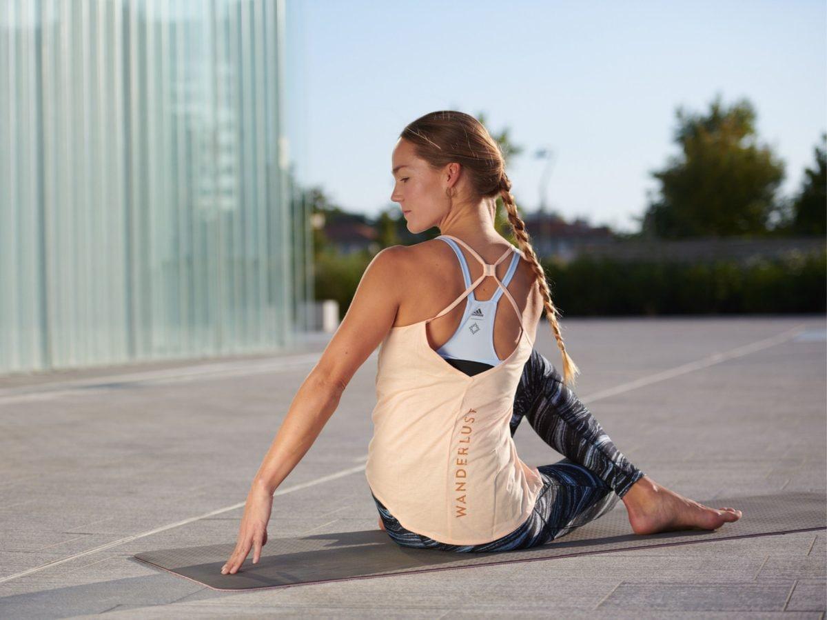 Wanderlust 108 Milano yoga corsa meditazione adidas 8