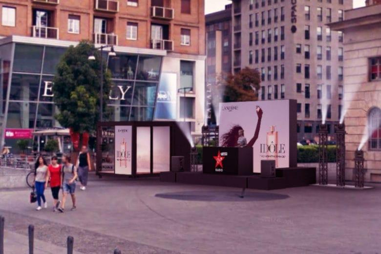 Lancôme festeggia la fragranza Idôle con un pop-up lounge a Milano