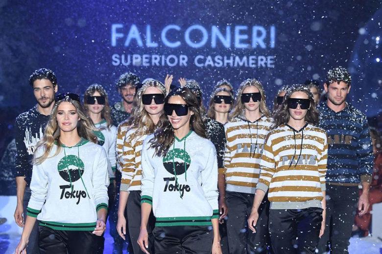 """Falconeri: sfila il fascino """"artico"""" del cashmere"""