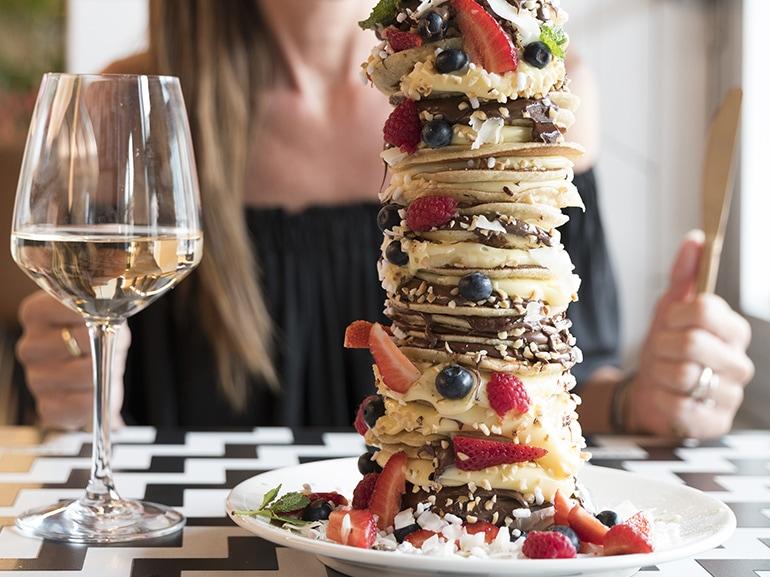 fancytoast pancakes