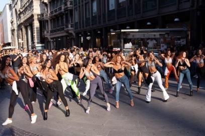 intimissimi-flash-mob
