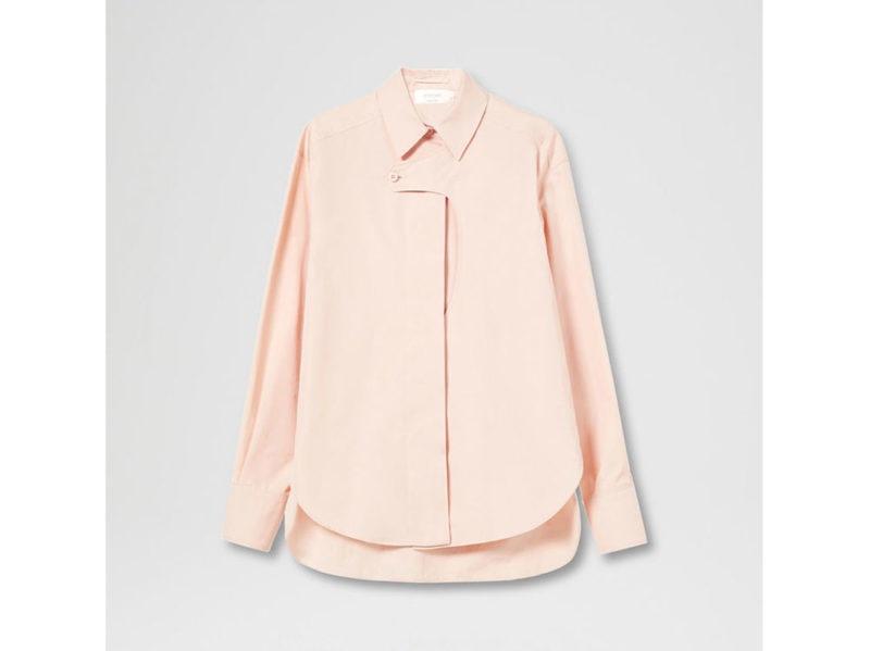 sportmax-camicia-in-popeline-di-cotone-con-bottone-trasversale
