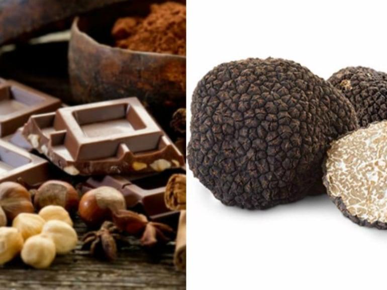 tartufo e cioccolato Subiaco