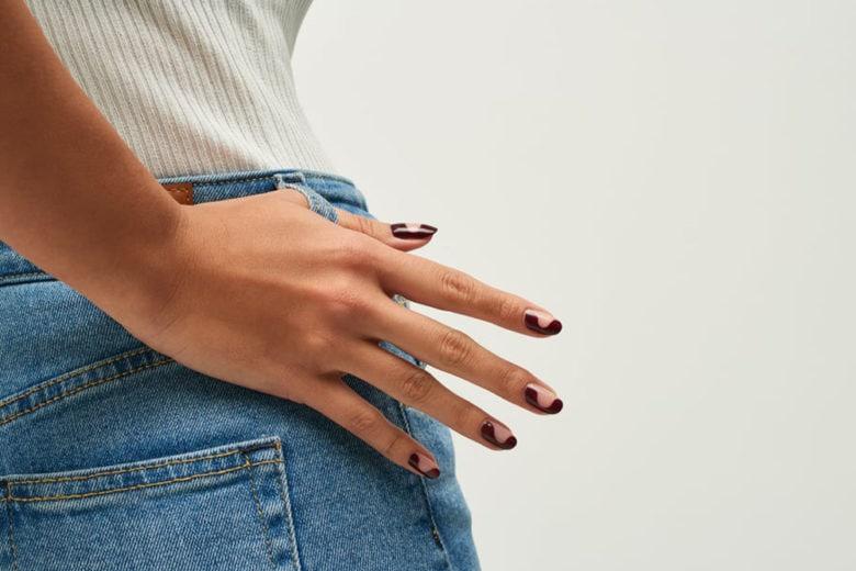 Wavy nail art: la manicure per unghie effetto onda da provare