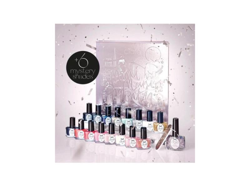 CIATE-LONDON-SMALTI-calendario-dell'avvento-beauty-make-up-trucchi-creme-profumi-natale-2019