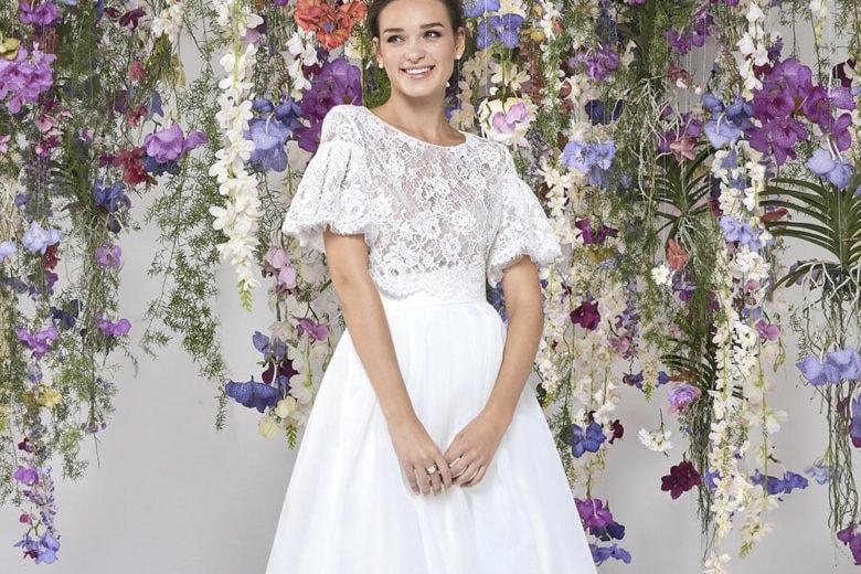 Abiti da sposa a fiori, le novità per il 2020