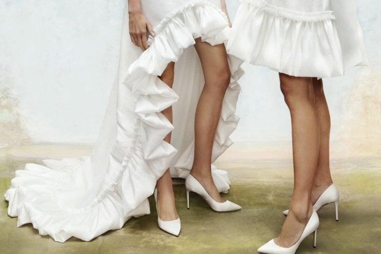 Le scarpe da sposa più belle del momento