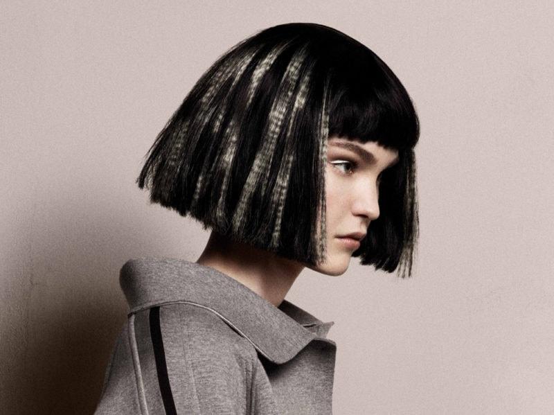 DAVINES tagli di capelli medi saloni autunno inverno 2019 2020 (2)