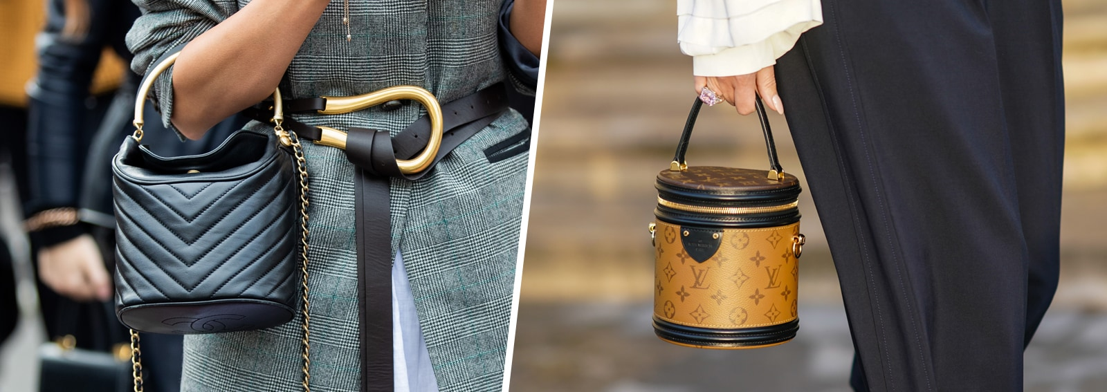 Diamo il benvenuto (di nuovo) alle borse secchiello: i modelli cool che vi faranno perdere la testa