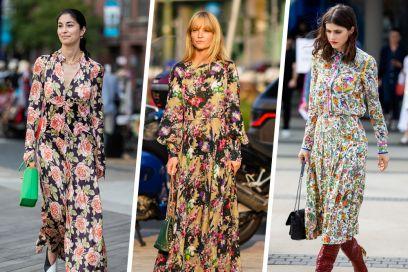 Abiti a fiori: ecco i modelli che renderanno romantico l'autunno