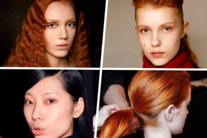 È Arancio Mania! Il colore dell'autunno conquista il make-up e la palette degli hair stylist