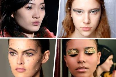 Make up:  il trucco è scintillante